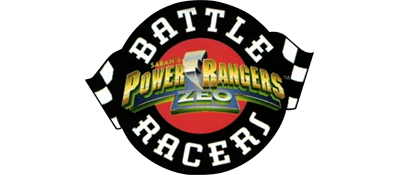 Power Rangers Zeo: Battle Racers - Clear Logo
