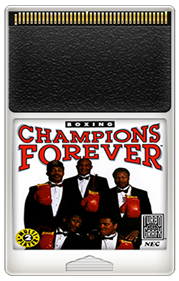 Champions Forever Boxing - Fanart - Cart - Front