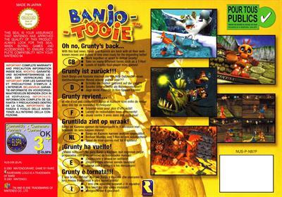 Banjo-Tooie - Box - Back