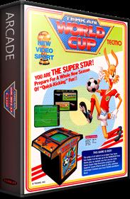 Tehkan World Cup - Box - 3D