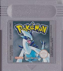 Pokémon Silver Version - Cart - Front