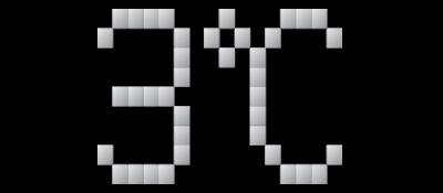 3° C - Clear Logo