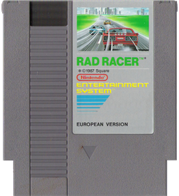 Rad Racer - Cart - Front