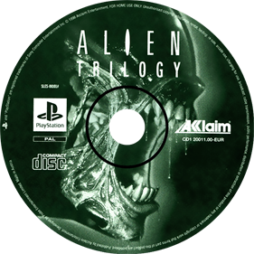 Alien Trilogy - Disc