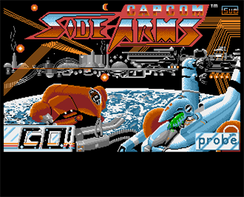 Side Arms - Screenshot - Game Title