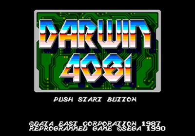 Darwin 4081 - Screenshot - Game Title