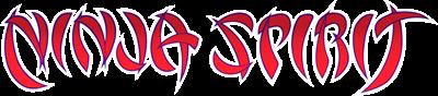 Ninja Spirit - Clear Logo