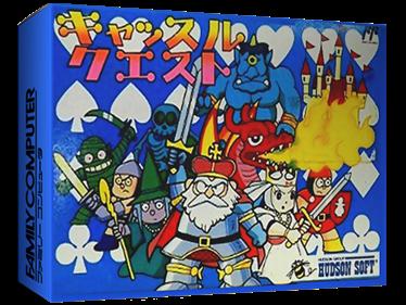 Castle Quest - Box - 3D