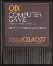 QIX - Cart - Front