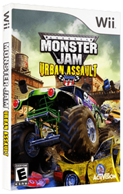 Monster Jam : Urban Assault - Box - 3D