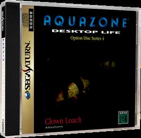Aquazone: Desktop Life Option Disc Series 4: Clown Loach - Box - 3D