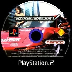 Ridge Racer V - Disc