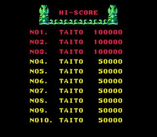 Great Swordsman - Screenshot - High Scores