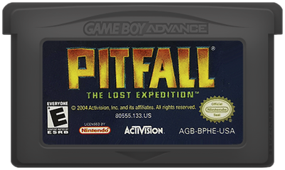 Pitfall: The Lost Expedition - Fanart - Cart - Front