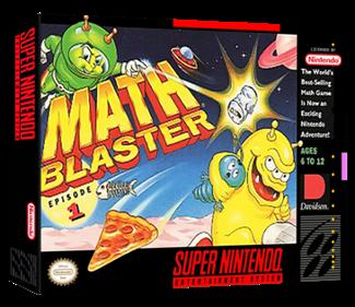 Math Blaster: Episode 1 - Box - 3D
