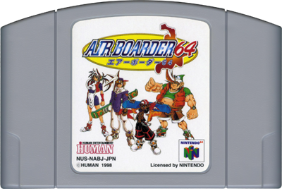 Air Boarder 64 - Cart - Front
