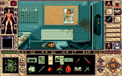 Elvira II: The Jaws of Cerberus - Screenshot - Gameplay