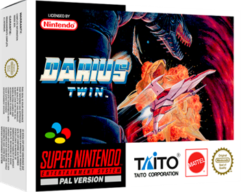 Darius Twin - Box - 3D