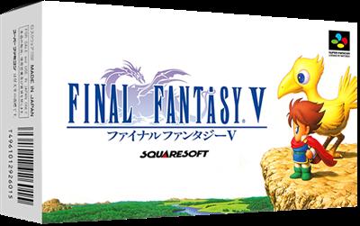 Final Fantasy V - Box - 3D