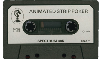 Animated Strip Poker  - Cart - Front