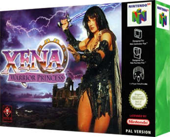 Xena: Warrior Princess: The Talisman of Fate - Box - 3D