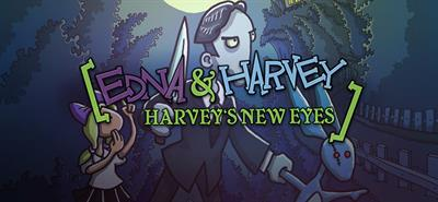 Edna and Harvey: Harvey's New Eyes - Banner