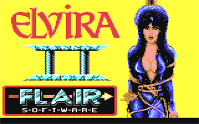 Elvira II - Screenshot - Game Title
