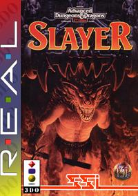 Advanced Dungeons & Dragons: Slayer - Fanart - Box - Front