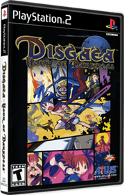 Disgaea: Hour of Darkness - Box - 3D