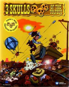 3 Skulls of the Toltecs - Box - Front