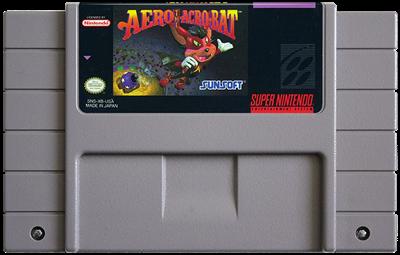 Aero the Acro-Bat - Fanart - Cart - Front
