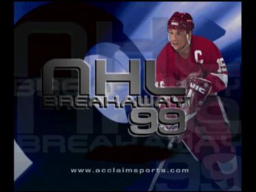 NHL Breakaway 99 - Screenshot - Game Title
