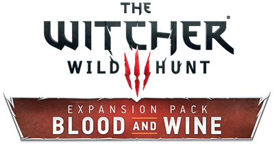 The Witcher 3: Wild Hunt: Blood and Wine - Clear Logo