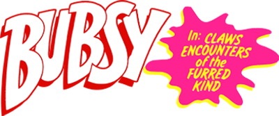 Bubsy in: Claws Encounters of the Furred Kind - Clear Logo