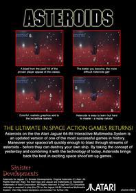 Asteroids - Box - Back