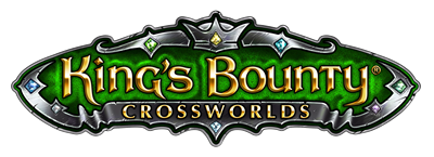 King's Bounty: Crossworlds - Clear Logo