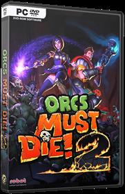 Orcs Must Die! 2 - Box - 3D