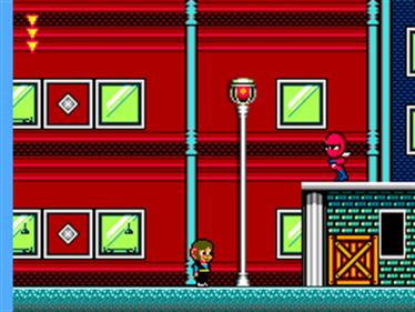 Alex Kidd in Shinobi World - Screenshot - Gameplay