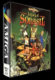 HeroQuest II: Legacy of Sorasil - Box - 3D