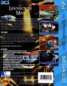 The Lawnmower Man - Fanart - Box - Back