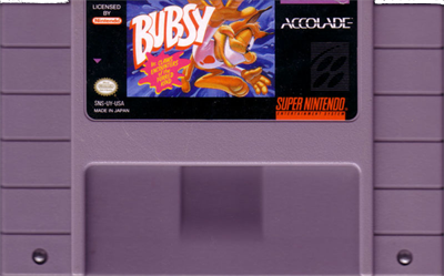 Bubsy in: Claws Encounters of the Furred Kind - Cart - Front