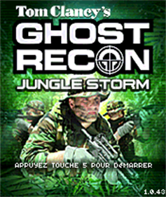 Tom Clancy's Ghost Recon: Jungle Storm - Screenshot - Game Title
