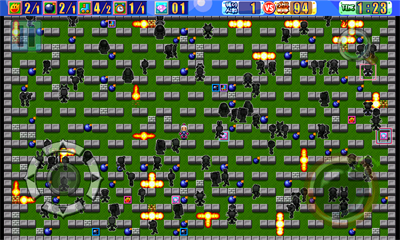 100 Man Battle Bomberman - Screenshot - Gameplay