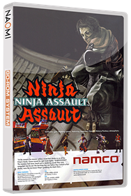 Ninja Assault - Box - 3D
