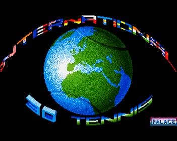 International 3D Tennis - Screenshot - Game Title