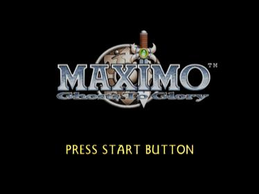 Maximo: Ghosts to Glory - Screenshot - Game Title