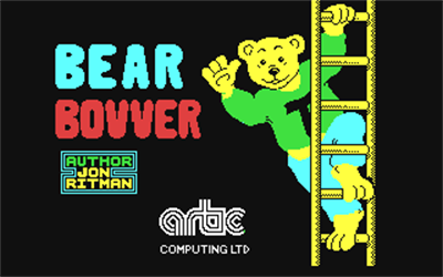 Bear Bovver - Screenshot - Game Title