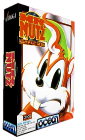 Mr. Nutz: Hoppin' Mad - Box - 3D