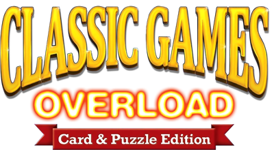 Classic Games Overload: Card & Puzzle Edition - Clear Logo