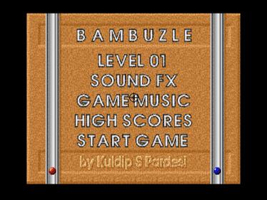 Bambuzle - Screenshot - Game Title